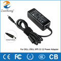 For DELL 19.5V 2.31A 4.5MM*3.0mm laptop AC power adapter charger XPS 12 13 13R 13Z 14 13-L321X 13-6928SLV 13-4040SLV