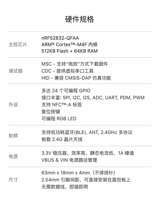 NRF52832-MDK V2: IOT development kit
