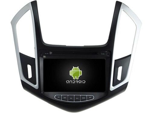 """imágenes para 5.1.1 Quad Core Android reproductor de dvd del coche Para 8 """"CHEVROLET CRUZE 2015 gps bluetooth radio estéreo CÁMARA DVR 3G Mapa LIBRE"""