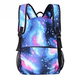 Image 5 - Children School Bags  Space Star Printing Backpack For Teenage Girls Boys Schoolbags USB Charger Anti Theft Lock Bookbag