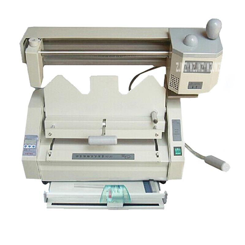 DC 30B Multi Functional Book Binding Machine,perfect Glue