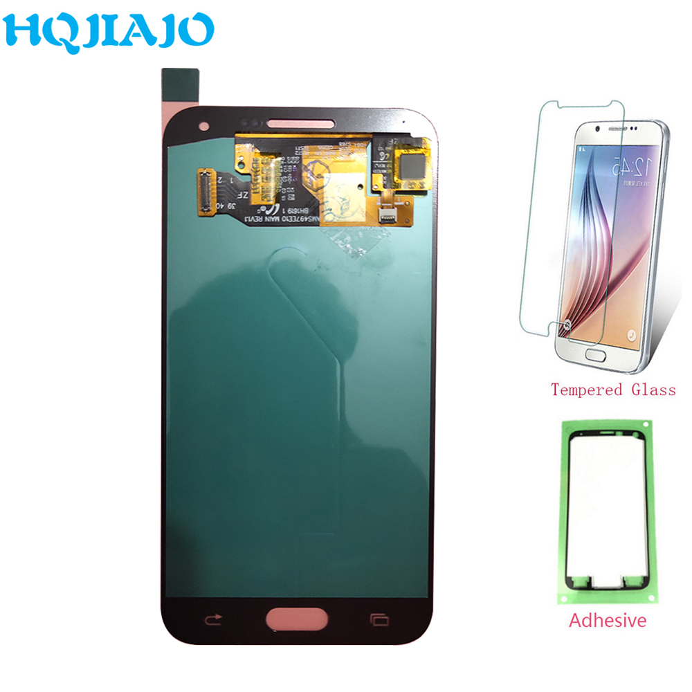 Super AMOLED <font><b>LCD</b></font> Screen Für Samsung <font><b>E500</b></font> <font><b>LCD</b></font> Display Touchscreen Digitizer Für Samsung Galaxy E5 E500F E500H E500M Montage <font><b>LCD</b></font> image