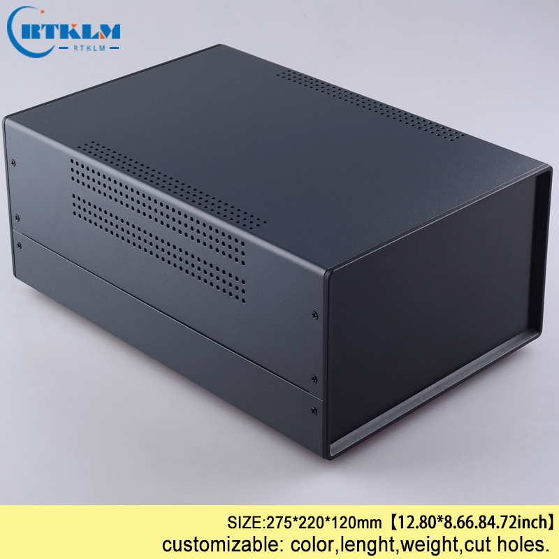 Iron Project enclosure diy instrument case PCB design wire connection box IP54 Iron electric box JUNCTION BOX 325*220*120mm image
