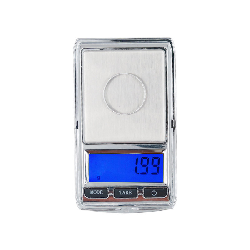 10pcs/lot Mini Digital LCD 200g 100g * 0.01g Jewelry Scale Weight Electronic Pocket balance with backlight and Leather sling цены
