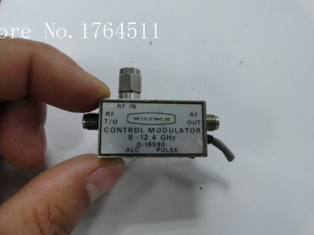 [BELLA] The Supply Of WILTRON D-18590 8-12.4GHz Modulator SMA