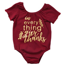 Newborn Infant Baby Boys Girls Bodysuit Outfits Sunsuit Clothes