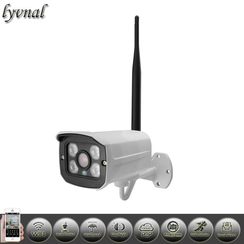 bilder für LYVNAL Audio 1080 P Wireless Outdoor Ip-kamera WIFI ONVIF P2P Netzwerk Wasserdichte Sicherheit cctv-system