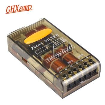 GHXAMP 80 واط 180 واط سيارة كروس 2 طريقة التريبل باس المتكلم ايفي تصفية 2.8 كيلو هرتز الراقية 2 قطع