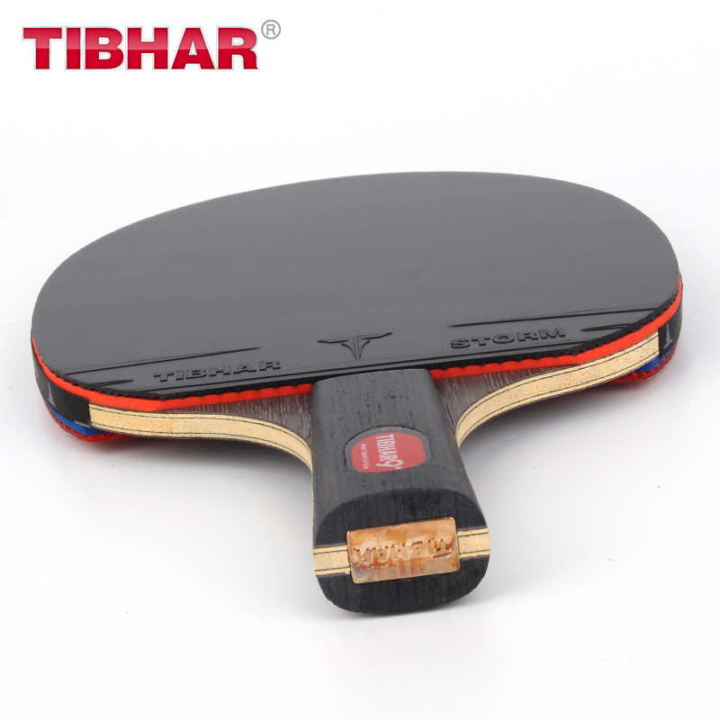 Tibhar Professional Table Tennis Racket Blade Rubber  Pimples-in Ping Pong Rackets High-quality With Bag 6/7/8/9 Stars