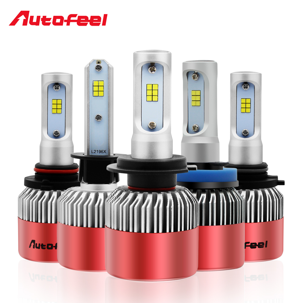 Car Lamp Led Bulbs CSP Chips 9004 9005 9006 9007 H1 H4 H7 H11 H13 Auto Led Headlight 84W 8000LM Combo Beam 6000K Powerful Lights 12v led light auto headlamp h1 h3 h7 9005 9004 9007 h4 h15 car led headlight bulb 30w high single dual beam white light