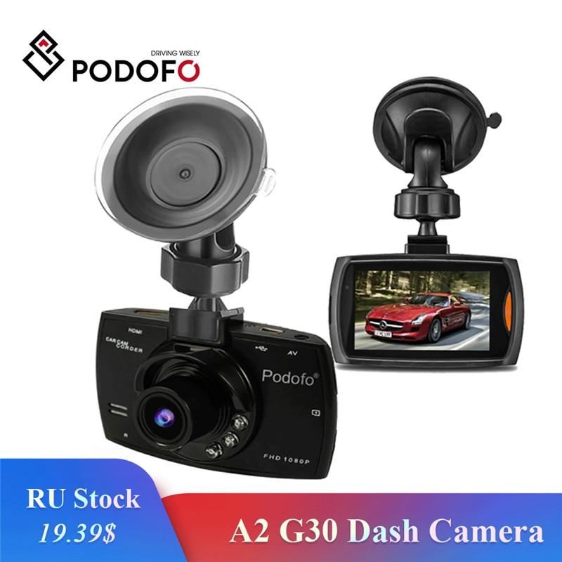 Podofo Car-Dvr-Video-Recorder Car-Camera Motion-Detection Dvrs G-Sensor Night-Vision