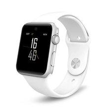 2016 neue dm09 bluetooth smart watch 2.5d arc hd bildschirm unterstützung Sim-karte Tragbare Geräte SmartWatch Magie Knopf Für IOS Android