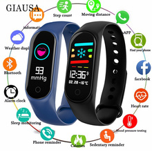 M3S Smart Bracelet Color-screen IP67 Fitness Tracker blood pressure Heart Rate Monitor Smart band For Android IOS phone m3s color screen ip67 smart bracelet blood pressure heart rate monitor fitness tracker smart wrist band for android ios phone
