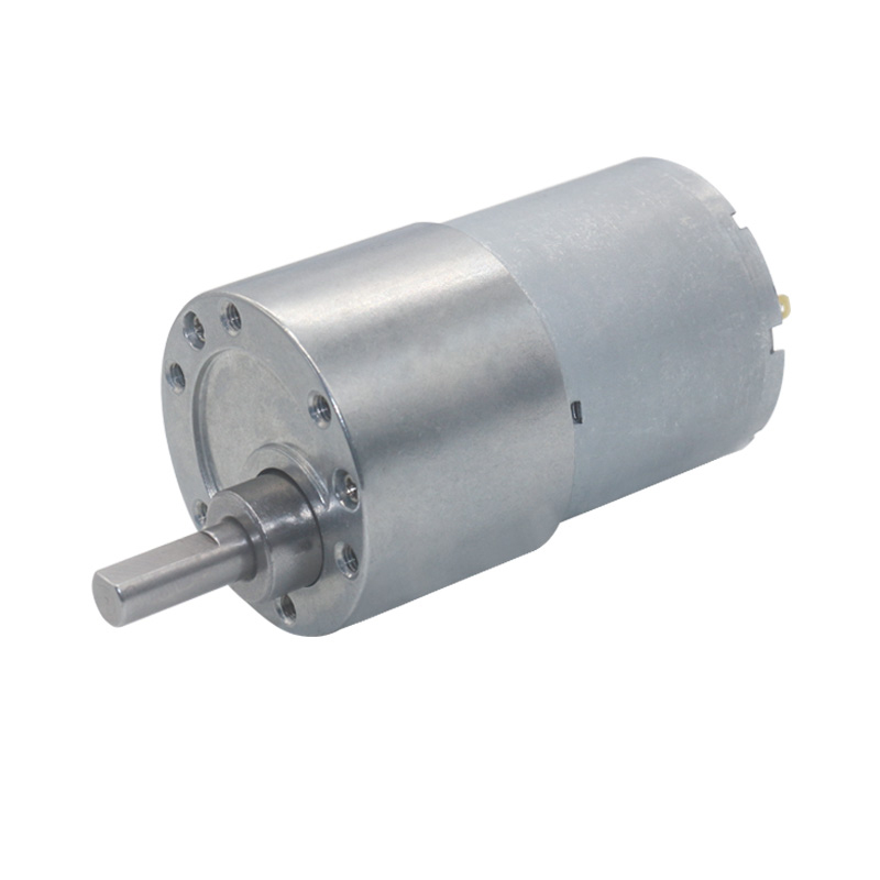 Мотор-редуктор, диаметр 37 мм, 12 В, постоянный ток, 24 В