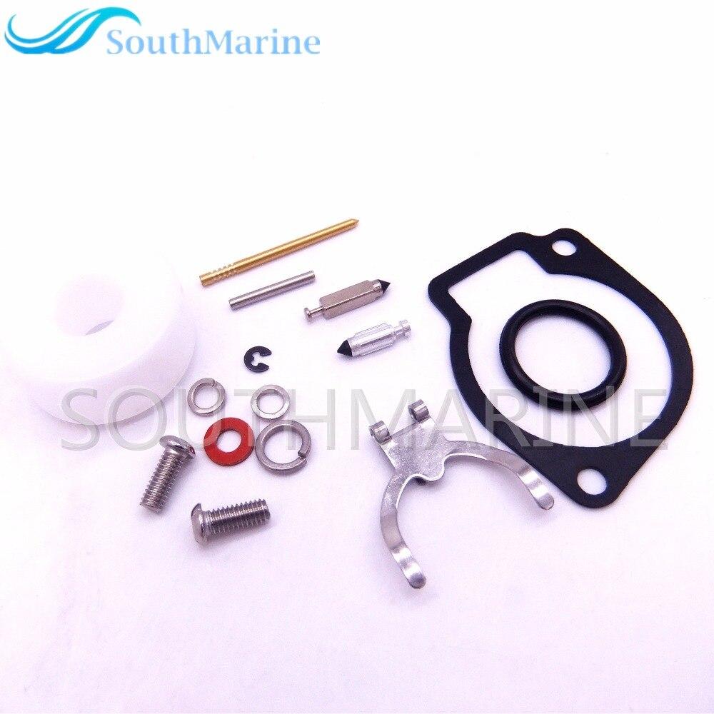 Boat Engine Carburetor Repair Kit for Tohatsu Nissan 2.5HP 3.5HP Outboard  Motor 3F0-87122-1 3F0-87122-2