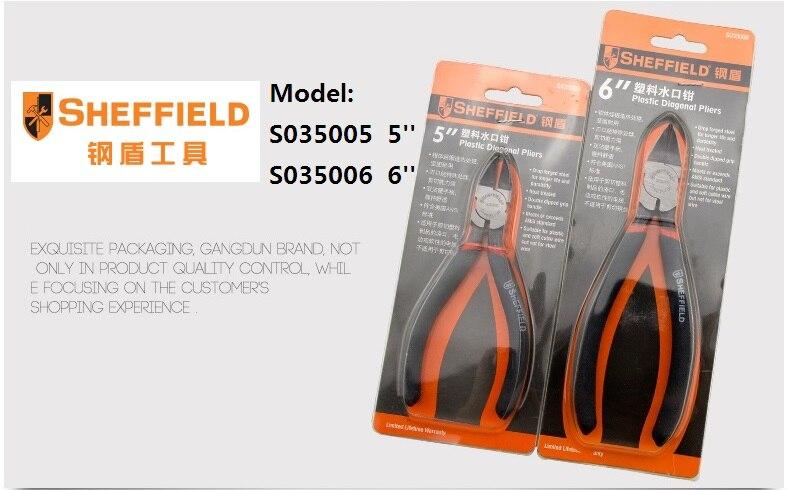 SHEFFIELD Diagonaalsed plastist tangid, elektroonilise plasttraadist - Käsitööriistad - Foto 6