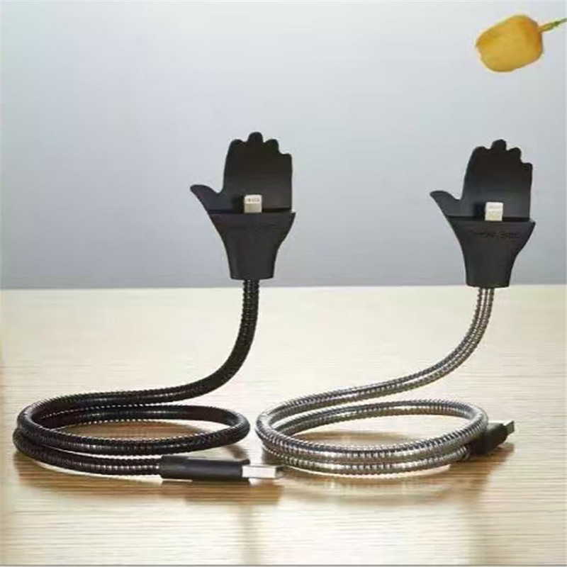 Телефон USB металла держатель Мобильный телефон линии передачи данных Бесплатная деформа ...