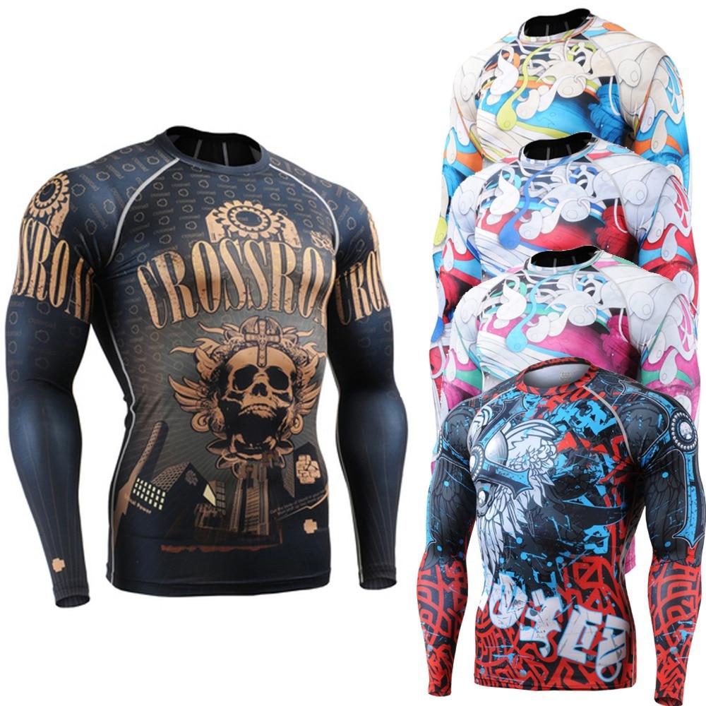 FIXGEAR CFL-19B Compression Base Layer Shirts Under Skin Tight Gym Training MMA