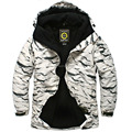"New Edition ""Southplay"" Winter Waterproof 10,000mm Warming Jacket  - White Sand Military"