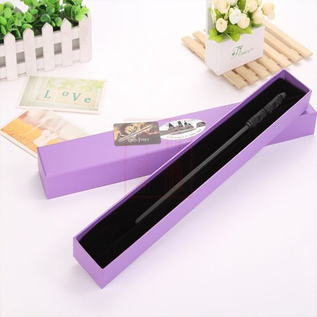 2017 With Iron Core New Quality Deluxe COS Albus Snape Magic Wand of Harry Potter Magical Wands with Gift Box Packing