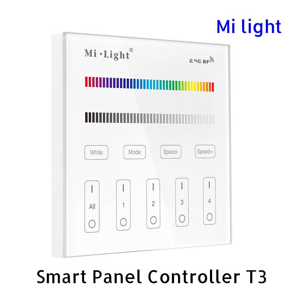 Controlul telecomenzii cu panou inteligent BSOD LED T3 RF 2.4G Reglaj - Accesorii de iluminat