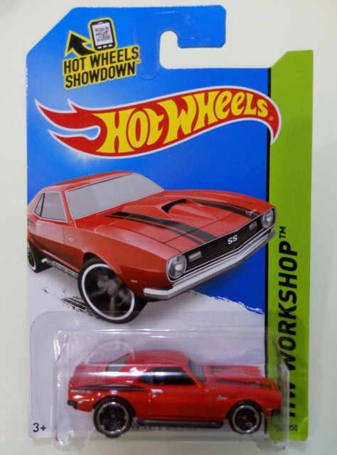 Hot Wheels Chevrolet Series 68 Copo Camaro Alloy Car Toys Classic