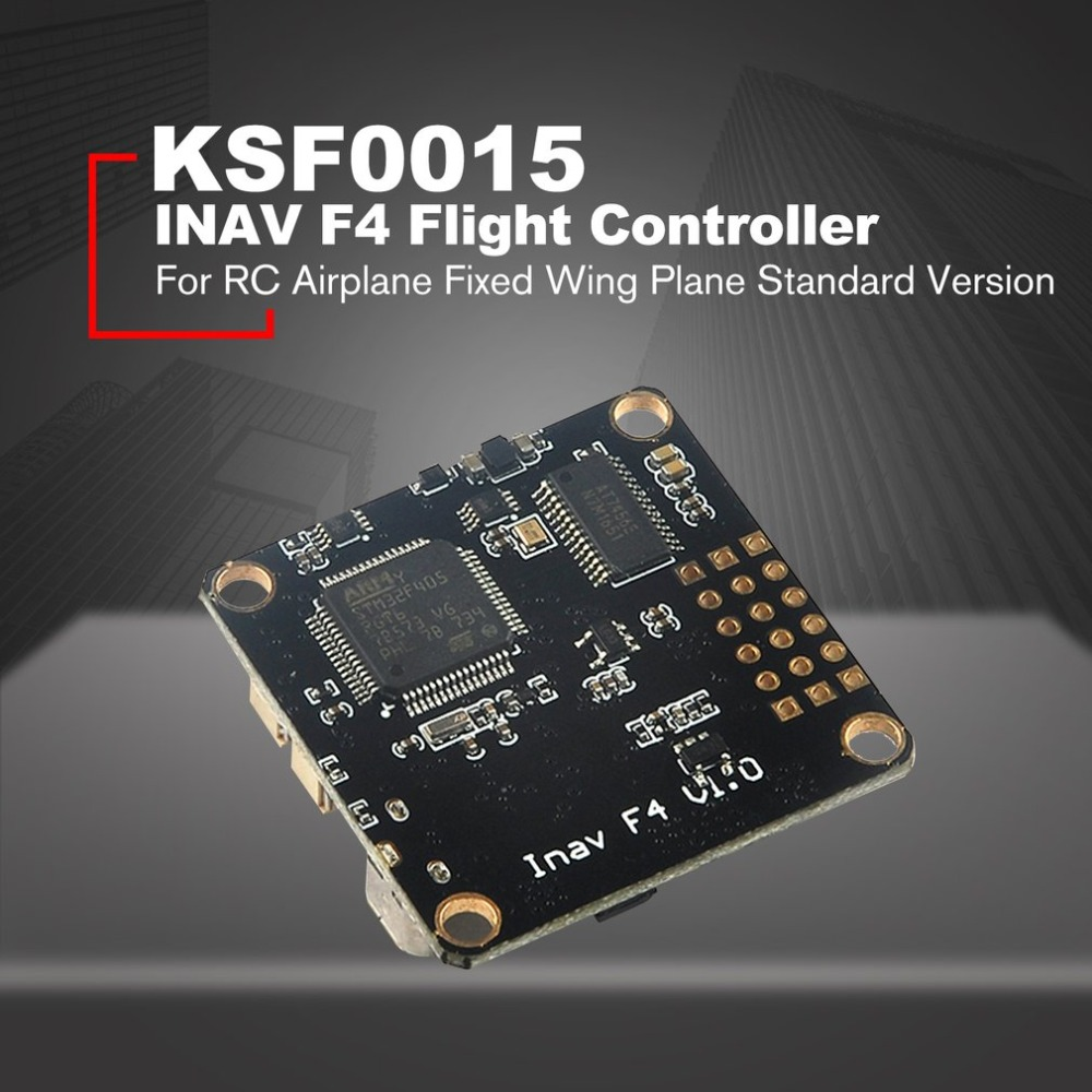 INAV F4 Flight Controller FC with OSD Buzzer 5V/3A BEC SBUS/PORT M8N GPS for RC Airplane Fixed Wing Plane Standard Version цены онлайн