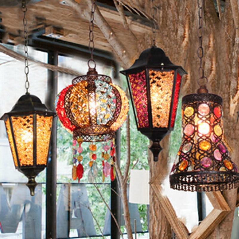 Кава люстра люстра американське село - Внутрішнє освітлення - фото 2