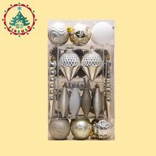 Direct new decorated Christmas tree Christmas Holiday Hotel platinum bag hanging decoration suit accessories