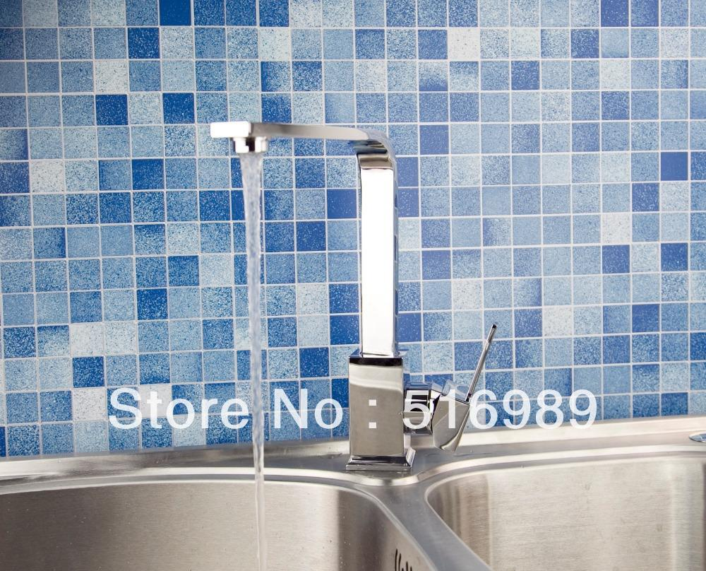 Water Tap Sink Kitchen Torneira Cozinha Tap Mixer Faucet swivel chrome vessel mixer tap faucet 4
