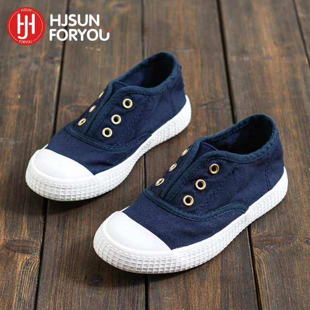 2646cb16c55a48 Fashion Simple Design Size 20-36 children boys shoes casual lazy shoes  canvas sneakers popular