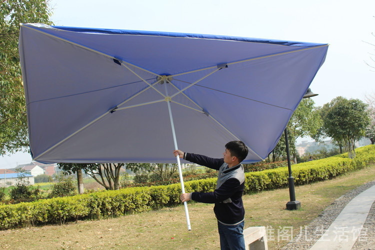 Large Umbrella Beach Stall Tent Pavilion Tents Umbrellas Sun Outdoor Awning