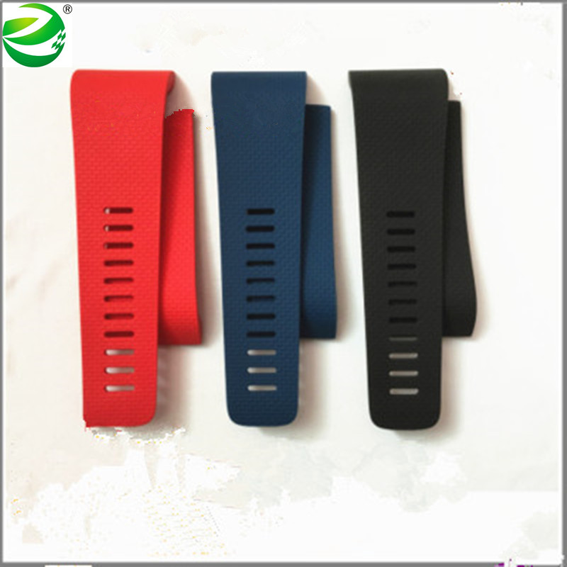High Quality Silicone Rubber replace Wristband For Fix fall apart wrist strap replacement Fitbit Surge band Smartwatch S/L Size