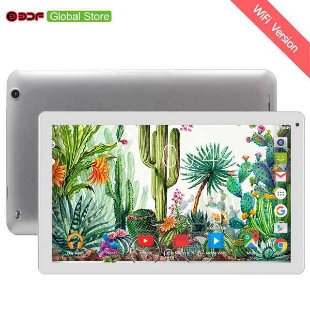 BDF nueva tableta de 10 pulgadas de gran tamaño Android 5,1 WiFi Tablets Pc 1 GB de RAM 32 GB ROM soporte de vídeo FM Quad Core Tablet Android 10,1