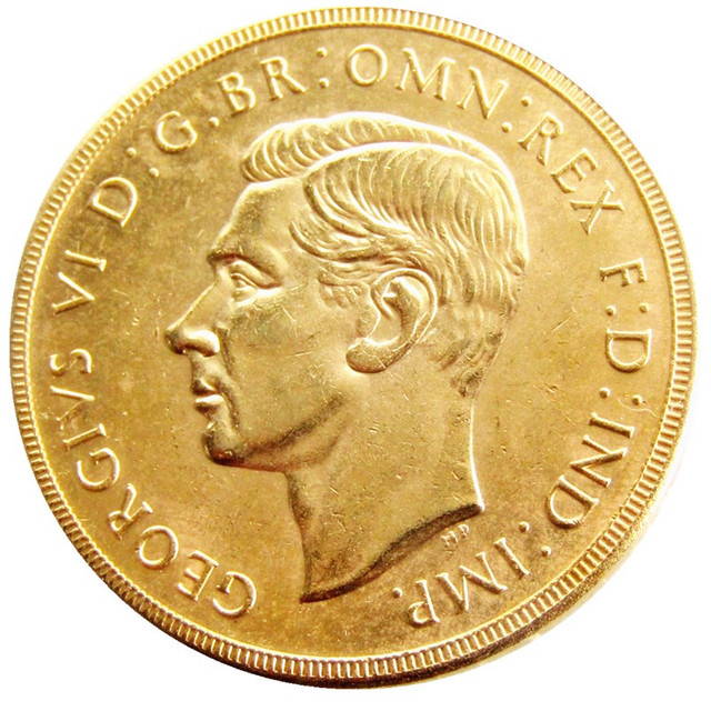 Uk 2 Pounds George Vi 1937 United Kingdom Copy Coins