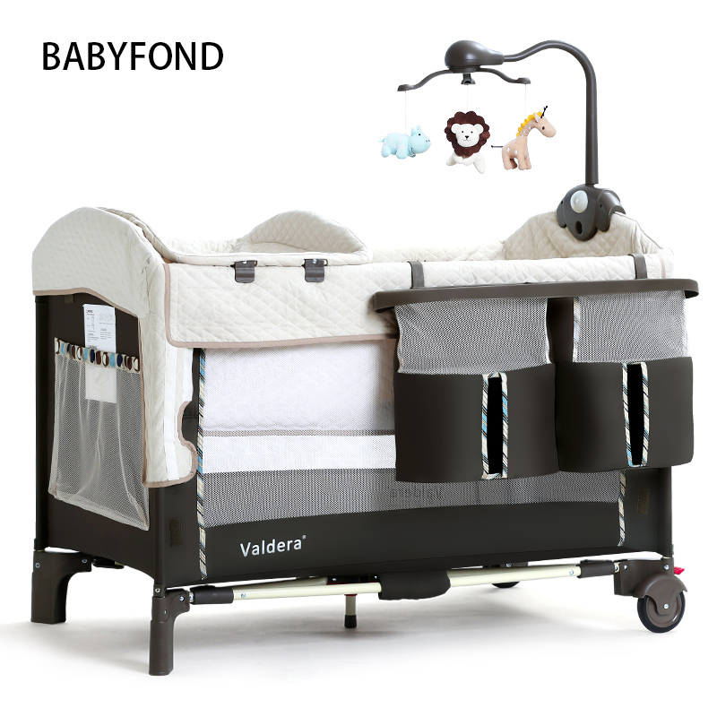 Valdera Foldable Multifunctional Baby Bed and Newborn Bed  with Travelling