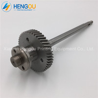 1 Piece MV.022.730/01 MV.101.755/02 G2.030.201 R2.030.207 Stainless Steel Material gear shaft for SM52 Machine parts
