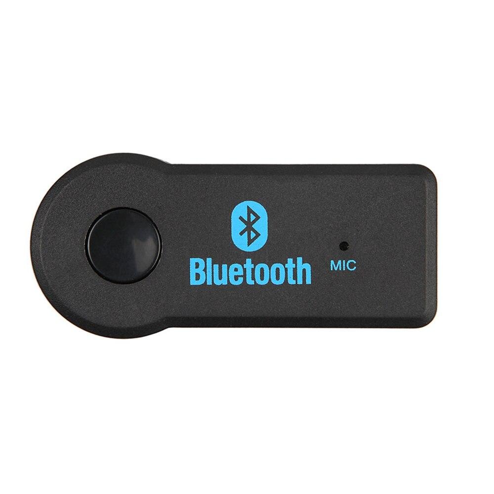 2016 Newest Handsfree Car Bluetooth Music Receiver Universal 3 5mm Jack A2dp Plastic Bluetooth