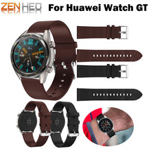 Replacement Bracelet Band Leather Watch Strap For Huawei GT Smart Honor Magic/galaxy watch 46mm strap