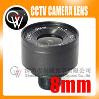 8mm lens 1/3 F1.6 Fixed Iris IR Infrared M12 Mount Lens For Security CCTV Camera Free Shipping