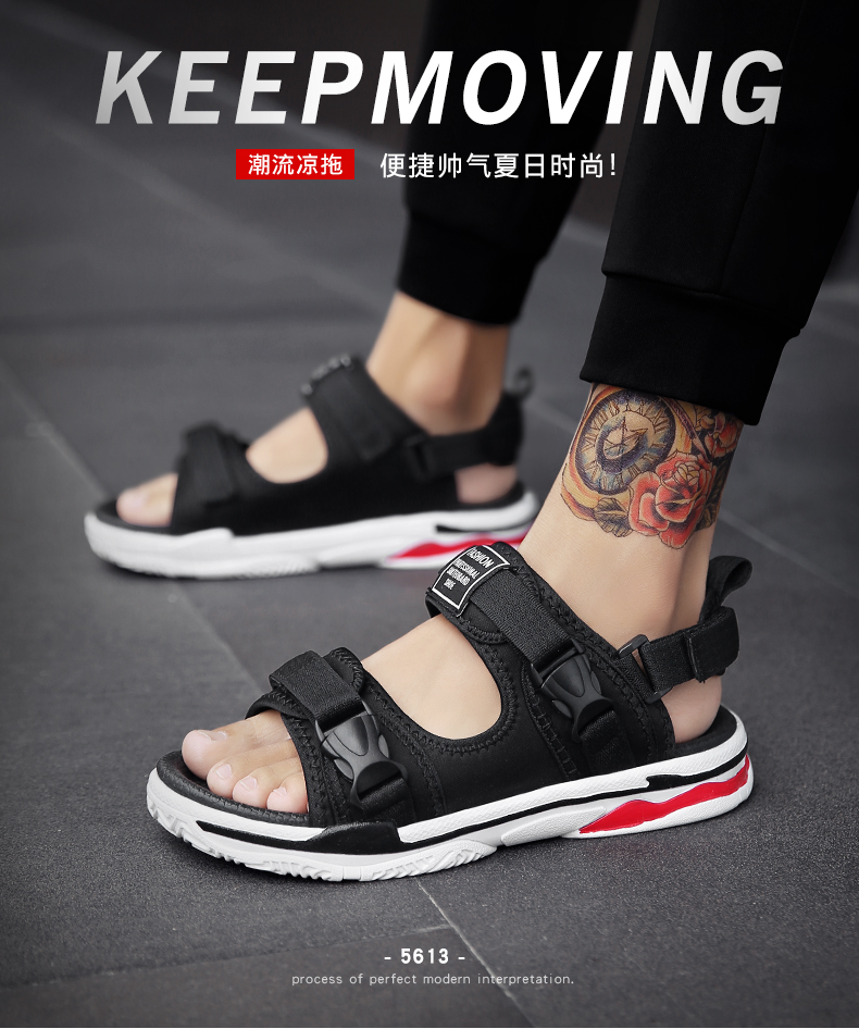 Man Beach Sandals Summer Gladiator Men's Outdoor Shoes Roman Men Casual Shoe Light Flip Flops Slippers Fashion Sandals Casuals 11