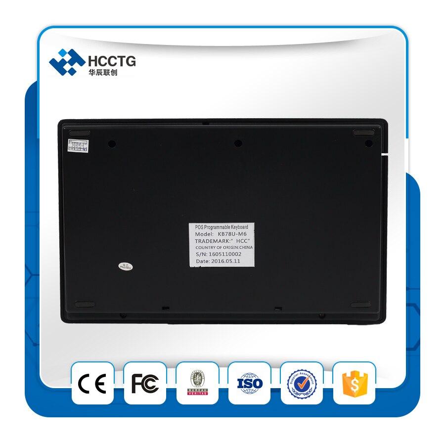 USB 78 Touches Mécanique Étanche POS Programmable Clavier wihout MSR - 2