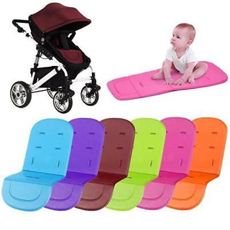 Popular Washable Soft Stroller Pushchair Car Seat Curshion Padding Pram Liner Pad Cushions