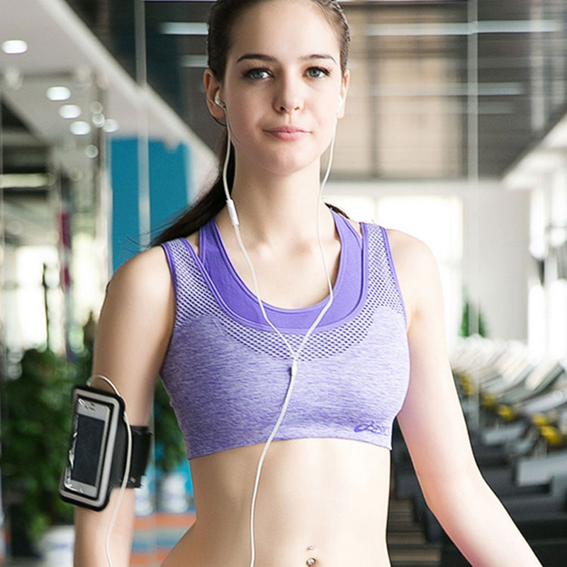 ФОТО Latest High Quality Yoga Workout Clothes Two-piece Movement Bra Underwear Earthquake Running Vest Shirts Health Care Products