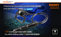 משלוח חינם ORCATORCH D600V באמצעות ארבעה ארה