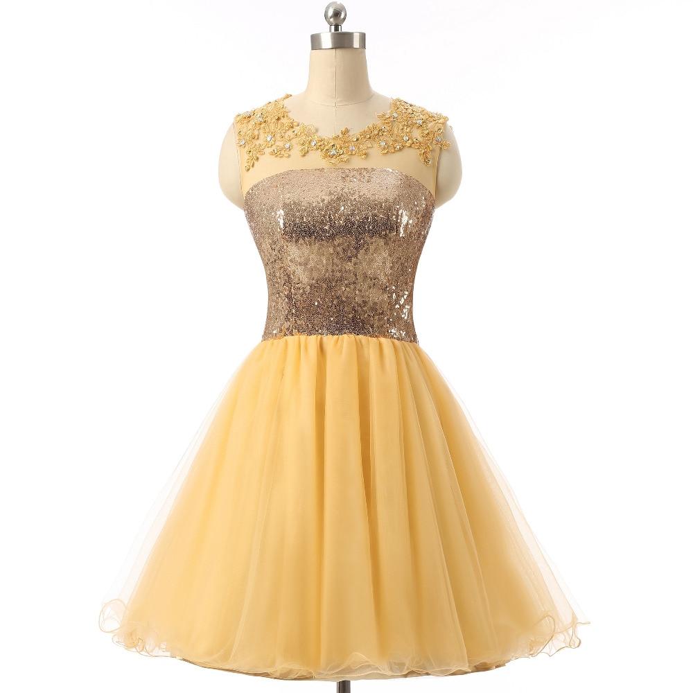 Online Get Cheap Yellow Semi Formal Dresses -Aliexpress.com ...