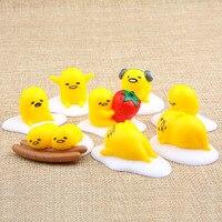 8pcs Lot Gudetama PVC Action Toy Figures Model Micro Landscape Garden Ornament Gift Toys