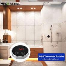 Термостат с сенсорным ЖК экраном контроллер температуры панель