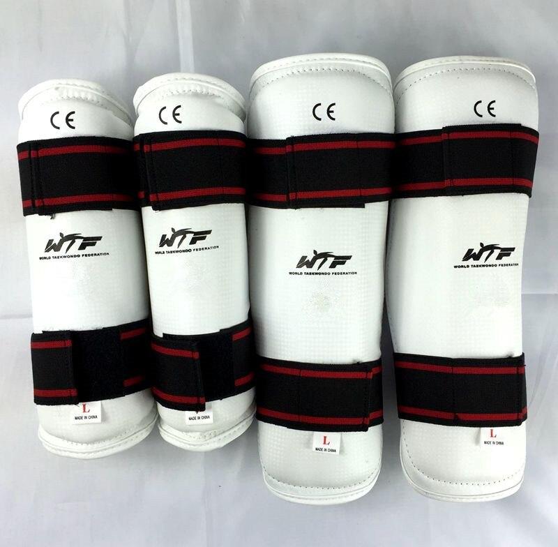 Prix pour Professionnel Taekwondo Karaté Coude et le Tibia Protecteur De Boxe Sanda Sparring Bras Garde et Jambe Garde
