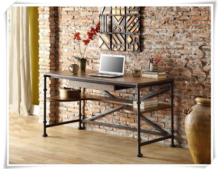 american country style wrought iron fir do the old antique furniture desk computer desk table rustproof american country wrought iron vintage desk